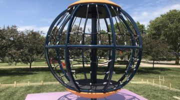 Research Park Adds Play Area In Memory of Local Family
