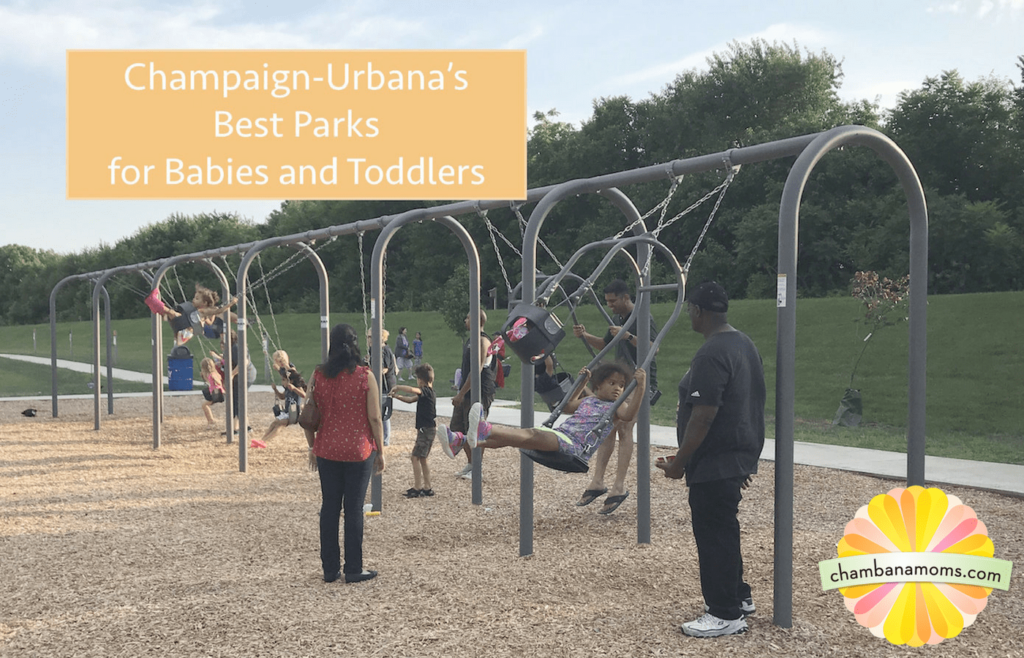 Best Parks toddlers babies champaign-Urbana-Savoy