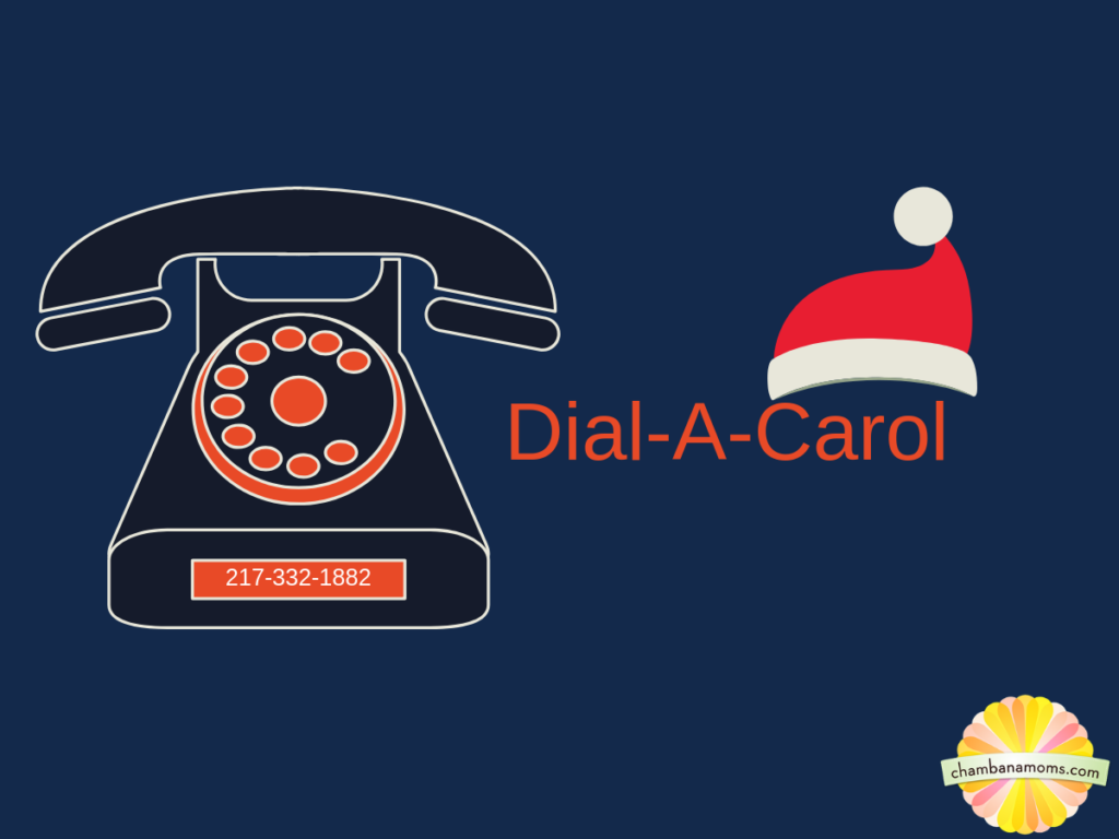 Dial-A-Carol University of Illinois students sing Carols