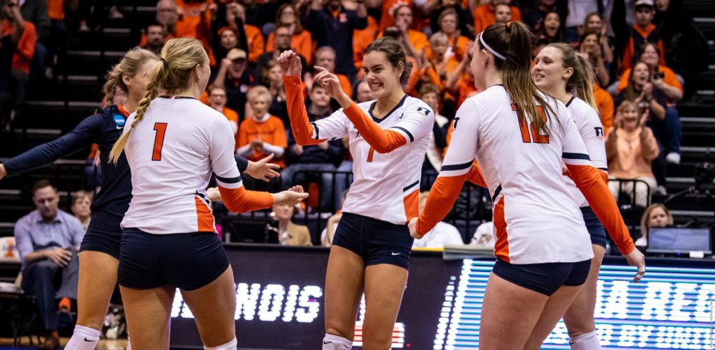 Illini Volleyball Final Four