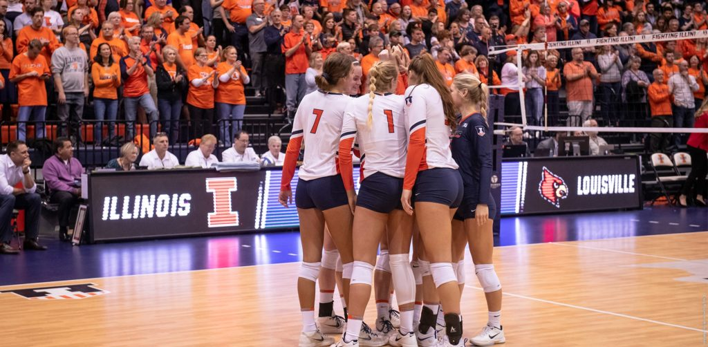 illinois volleyball. Source: FightingIllini.com