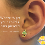 children ears pierced champaign urbana