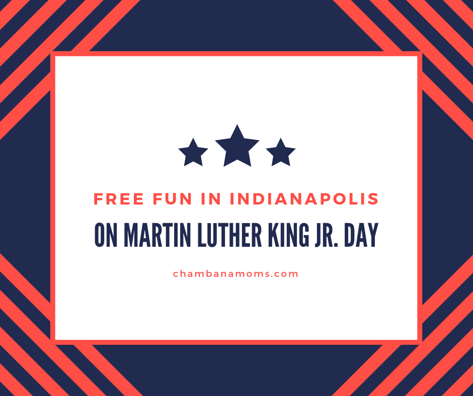 free fun indianapolis martin luther king Jr. Day