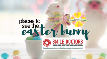 where to see the The Easter bunny in Champaign-Urbana