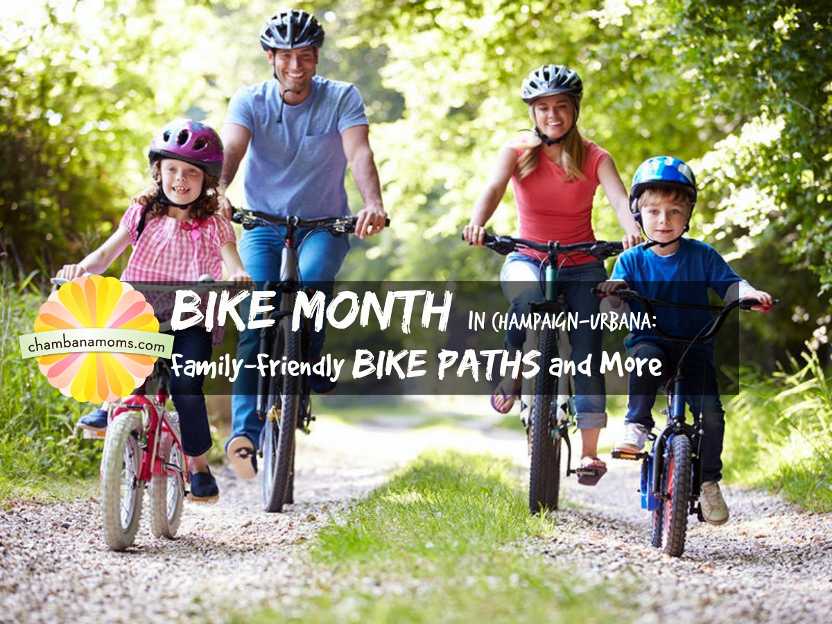 Bike Month in Champaign-Urbana: Family Cycling and More