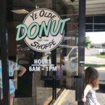 Ye Olde Donut Shoppe open