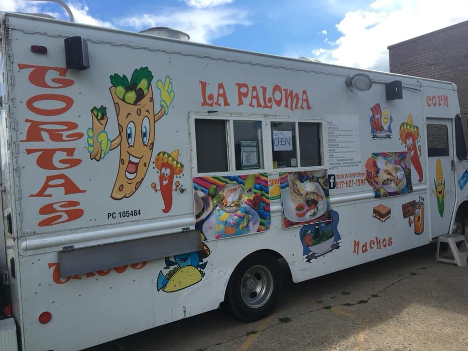 la paloma food truck