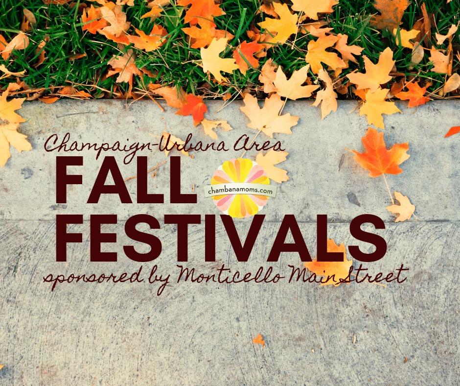 Fall Festivals in the Champaign-Urbana Area