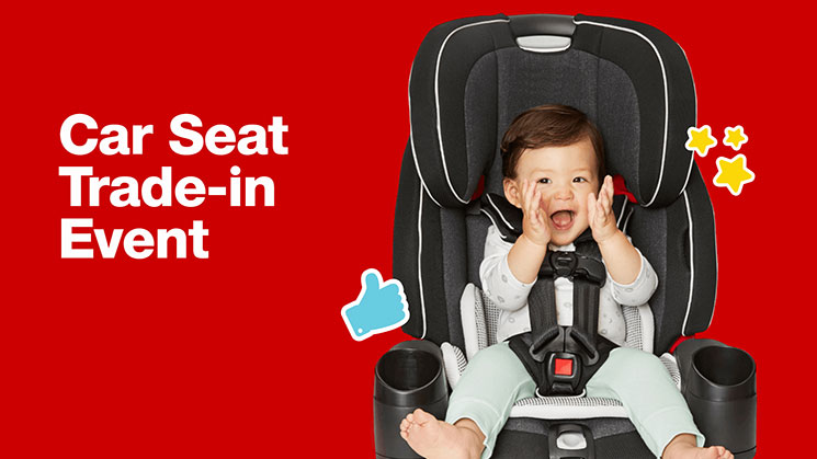 car seat trade in Target