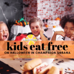 kids eat free on halloween in champaign urbana sponsored by CIBM Bank