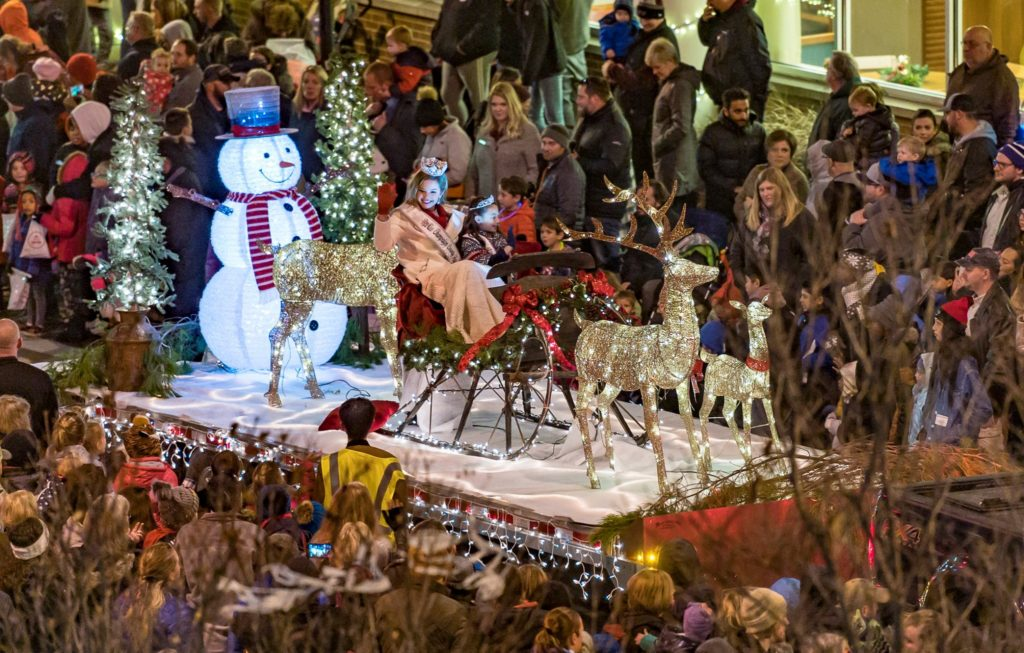 Christmas Parades in Champaign-Urbana.