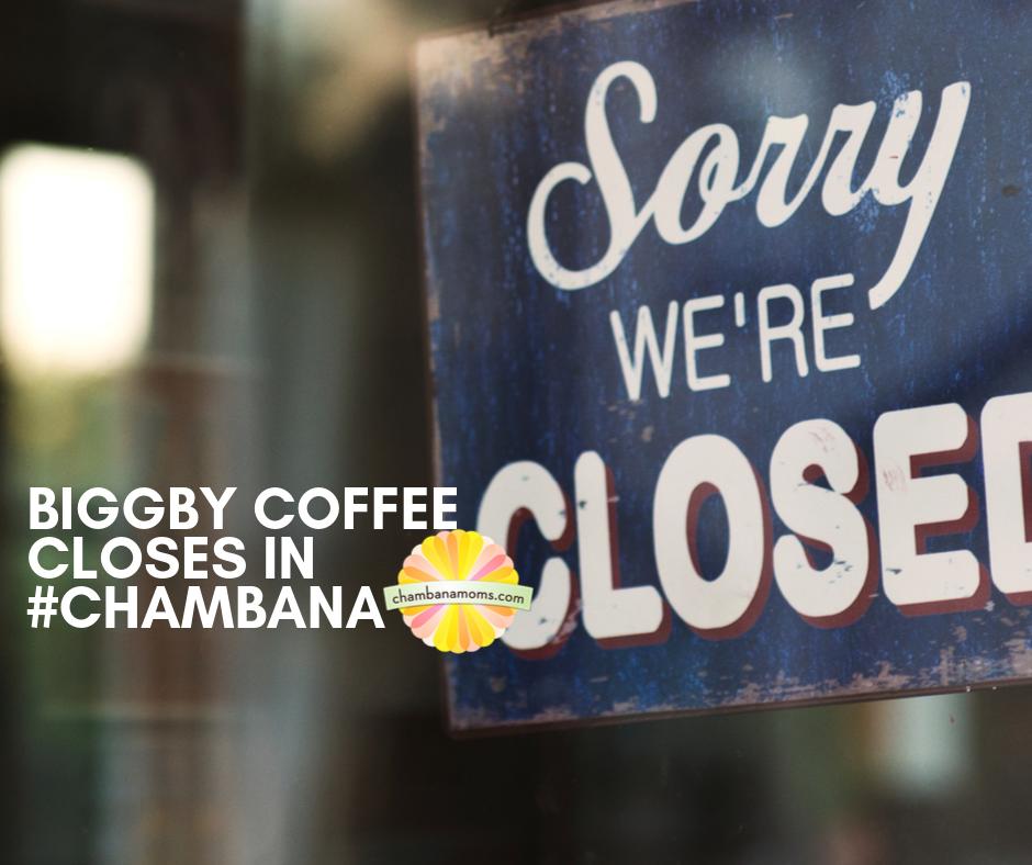 Biggby Coffee Closes Champaign