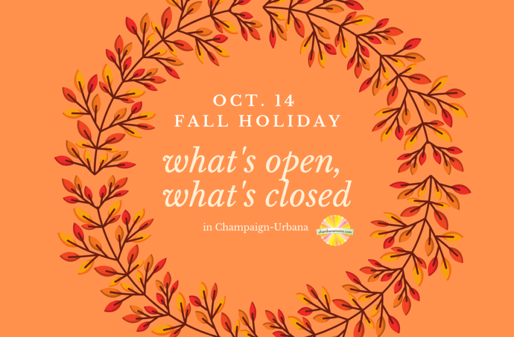 fall holiday what is open what is closed