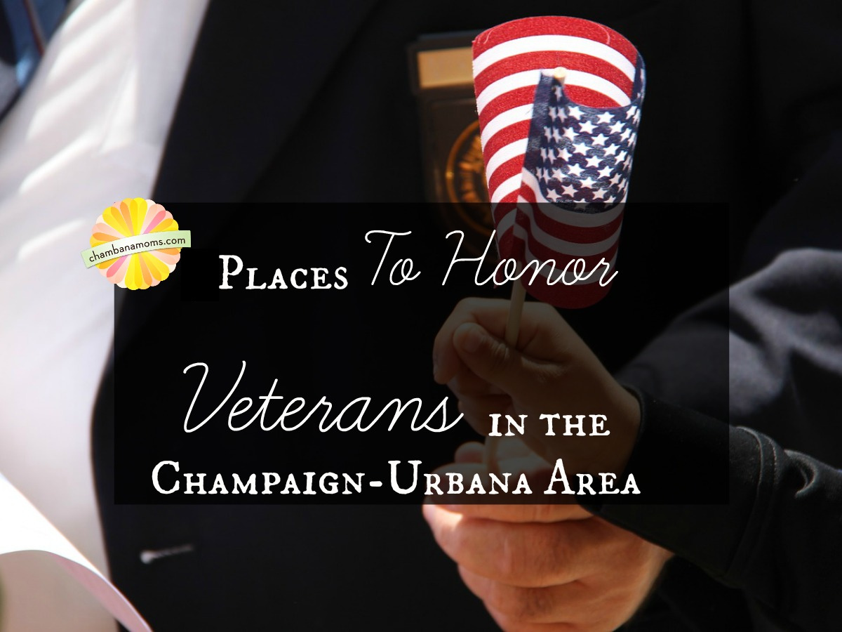 Locations that Honor Veterans in Champaign-Urbana