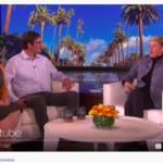 Ellen Show dog Champaign rescuer