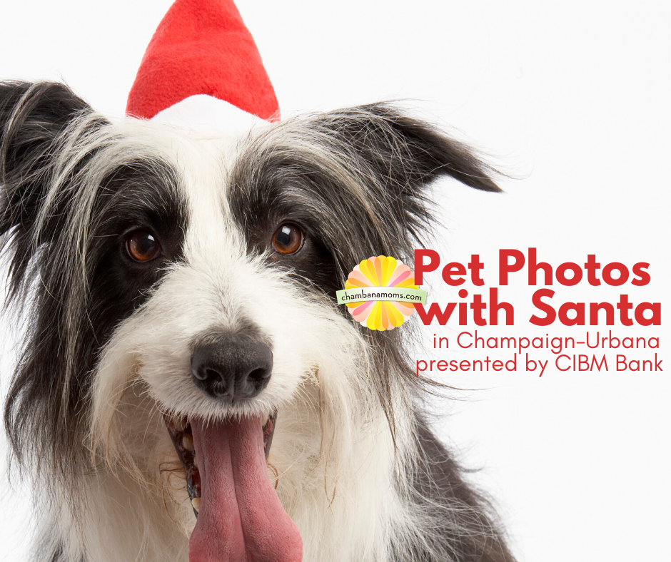 where to to get pet photos taken with santa in champaign-urbana