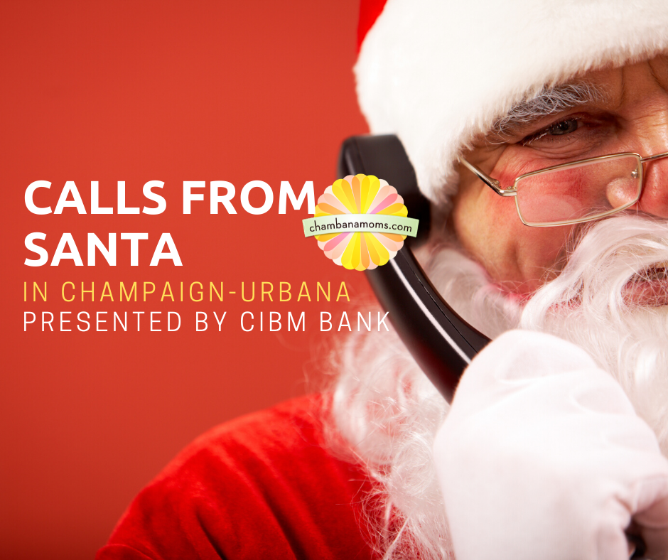 Phone calls and letters from Santa in Champaign-Urbana