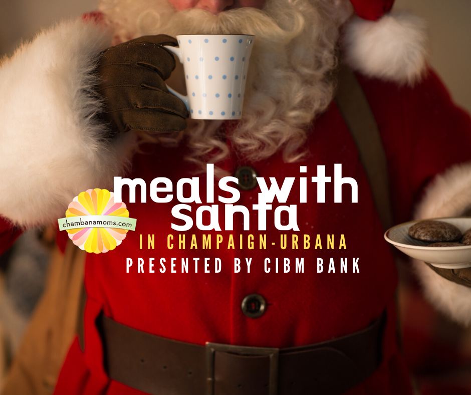 Meals with Santa in Champaign-Urbana
