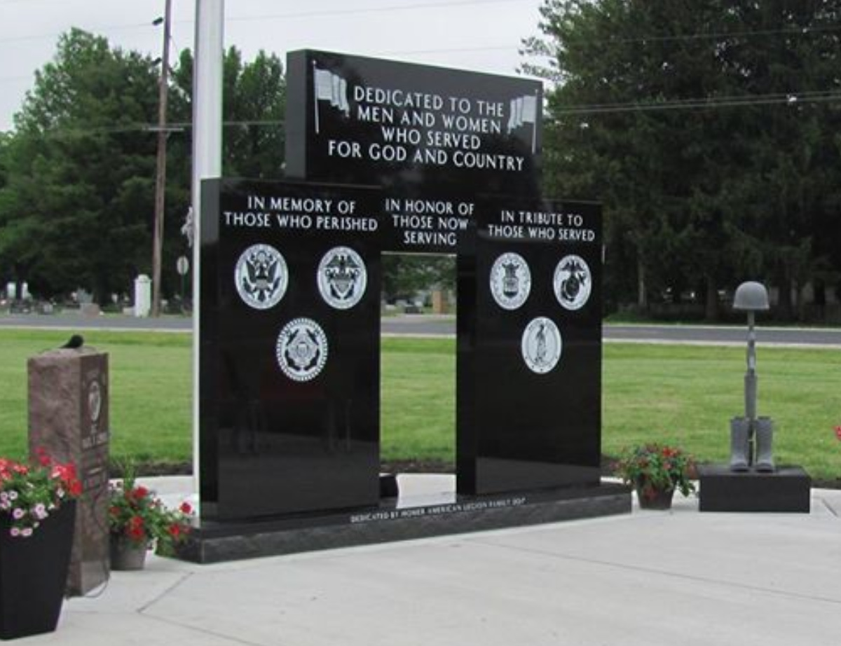 Homer Veterans Memorial Central Illinois