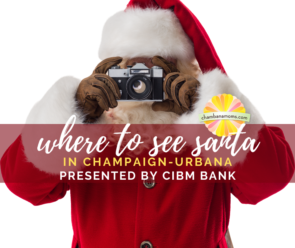 Where to see Santa in Champaign-Urbana