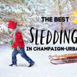 best sledding champaign urbana