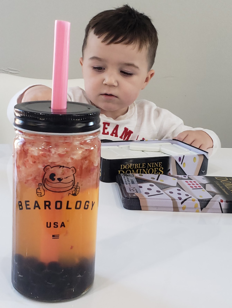 Mom Review of Bearology Bubble Tea in Champaign on Chambanamoms.com