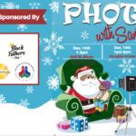 Champaign black Santa photos