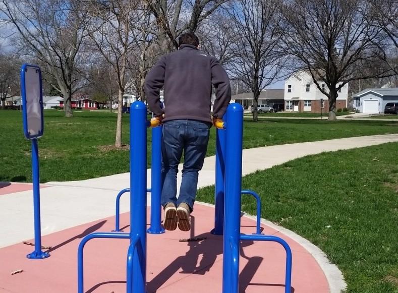 Douglass Park fitness trail