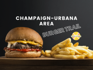 Champaign urbana area burger trail