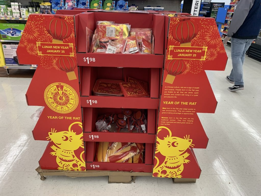 Lunar New Year Savoy Wal Mart