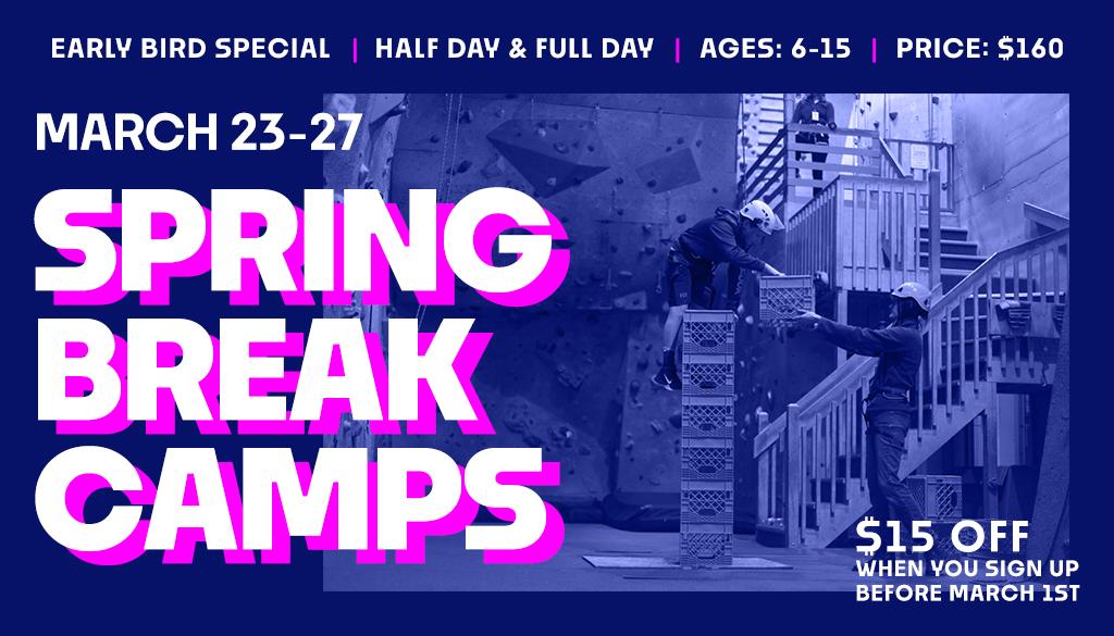 Upper LImits Spring Break Camps