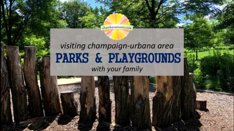 Visiting Champaign-Urbana Area Parks and Playgrounds with your family