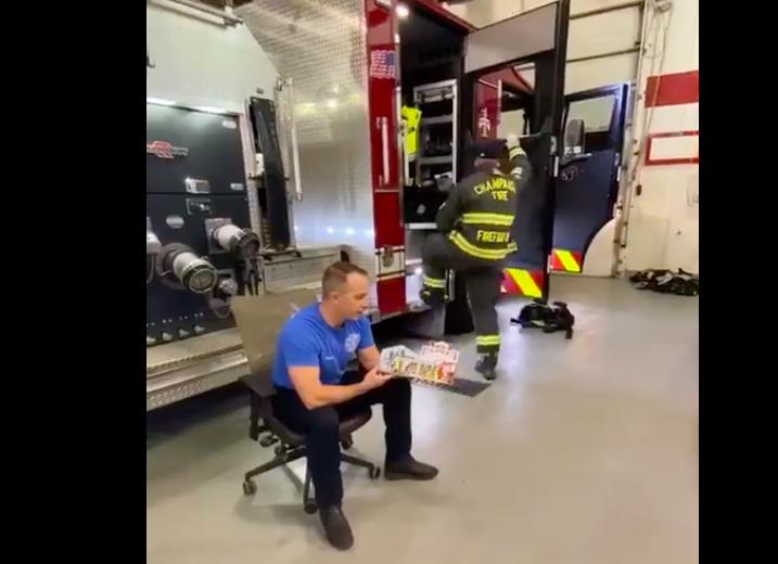 jasonrector champaign firefighter bedtime story