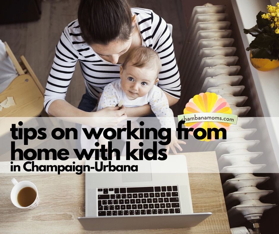 Tips on working from home with kids