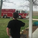 tuscola fire truck birthday