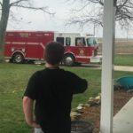 tuscola fire truck birthday