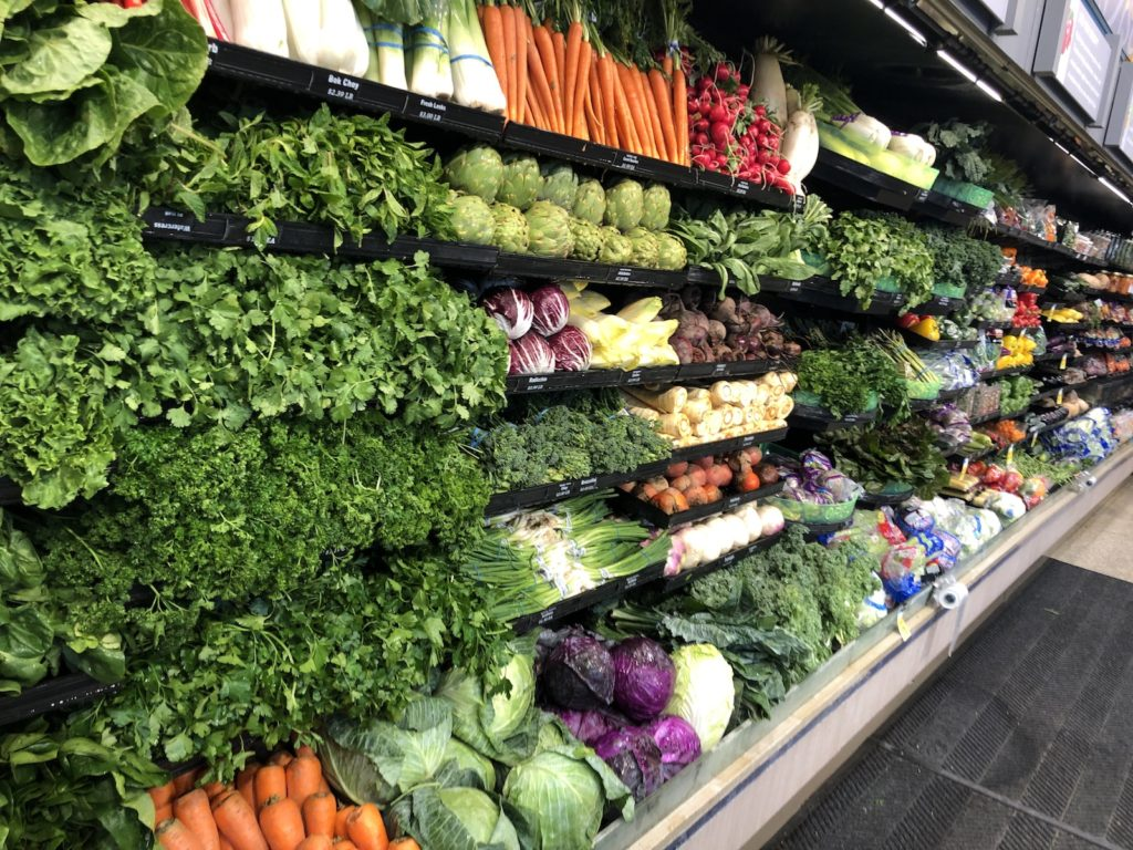 Fresh produce stocked at Harvest Market in Champaign