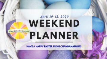Champaign-Urbana weekend planner Easter weekend 2020