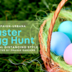 Easter Egg Hunt champaign-urbana social distancing