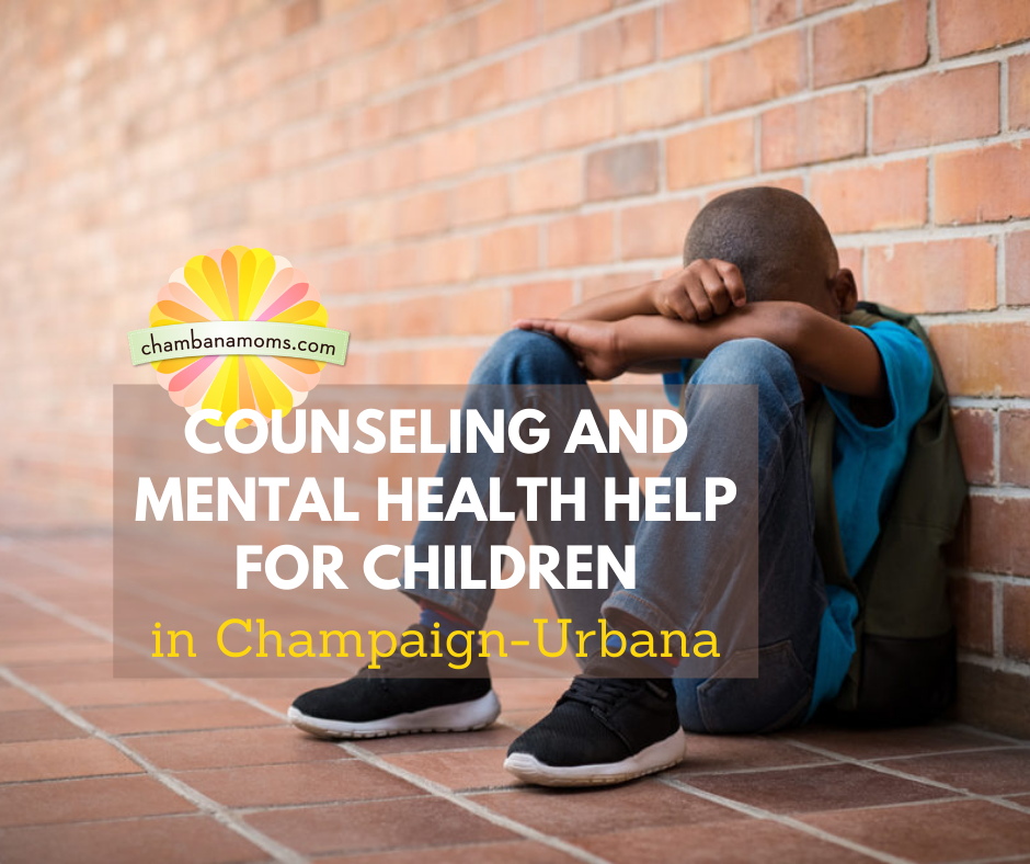 Counseling and Mental Health Help for Children in Champaign-Urbana