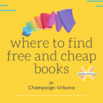 where to find free and cheap books champaign urbana