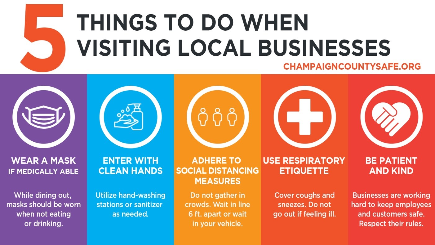 5 things to do when visiting local businesses