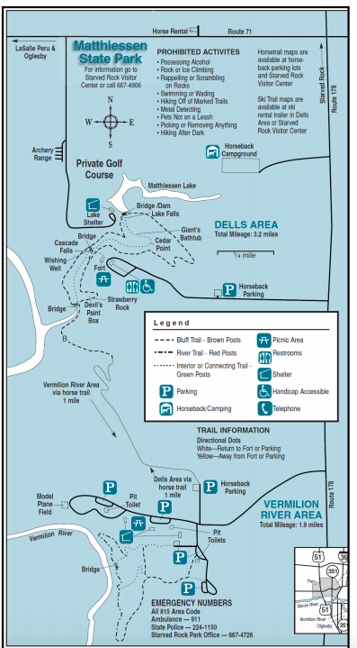matthiessen trail map