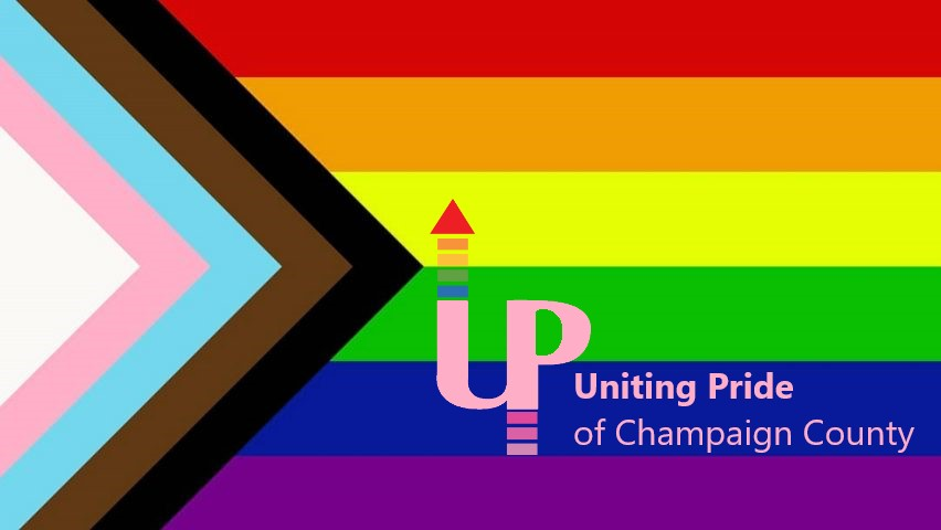 Uniting Pride of Champaign County flag
