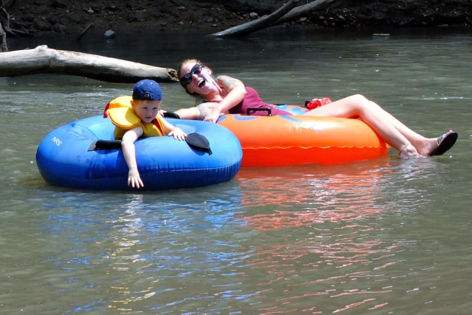 Tubing with your Kids