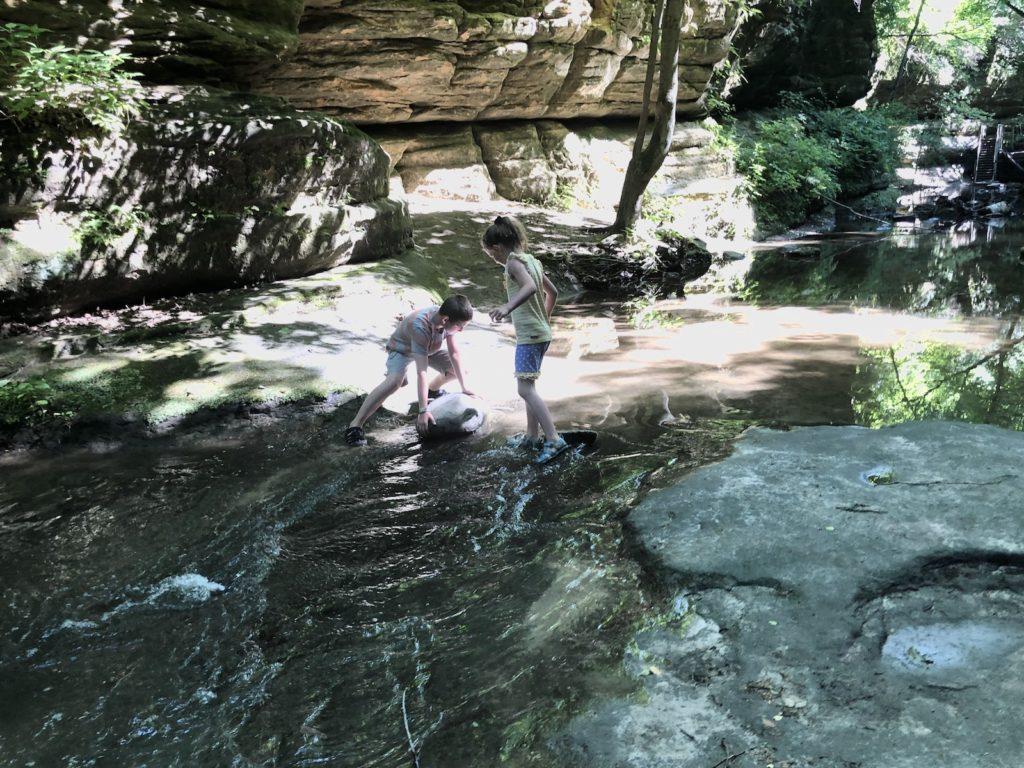 matthiesen creek stomping