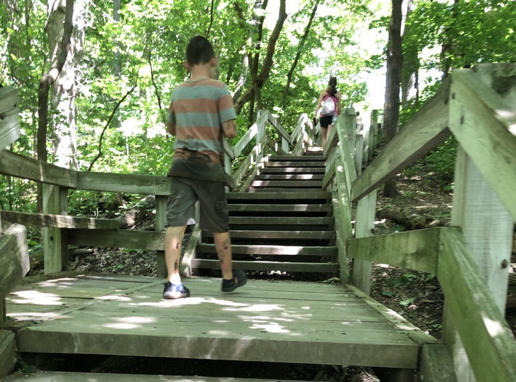 stairs at matthiesen