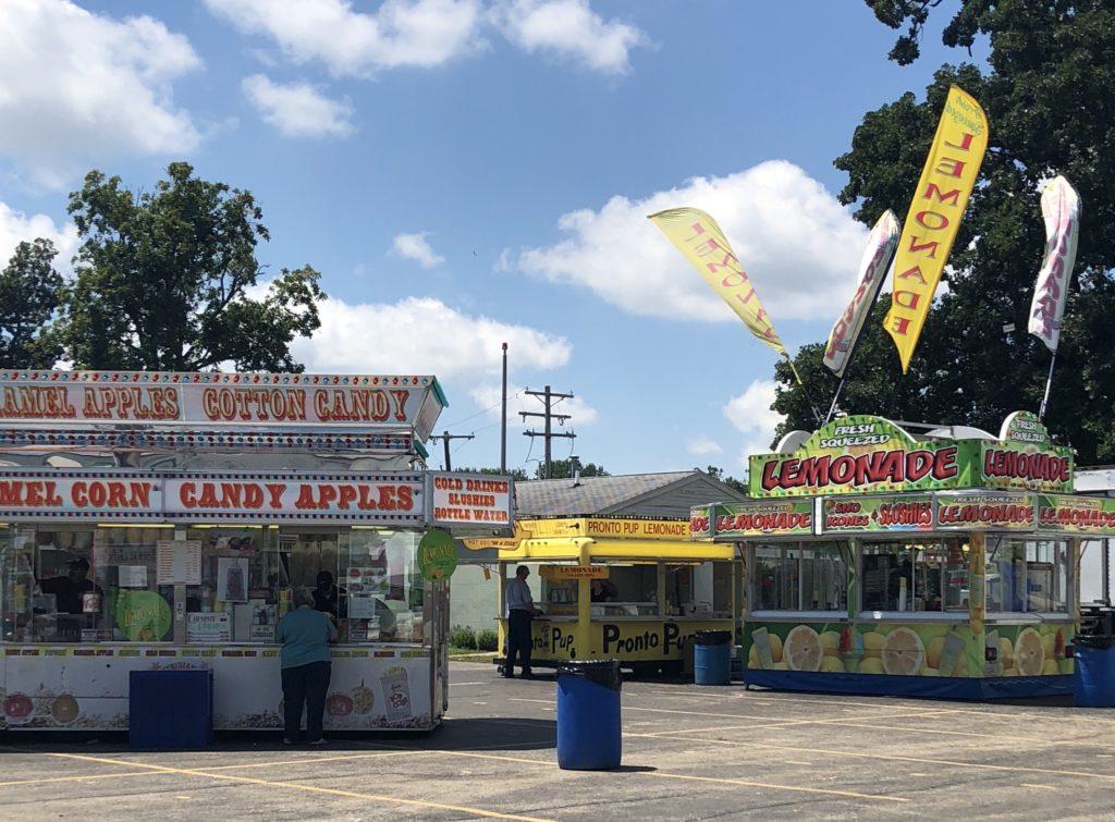 Fair Food at the Champaign County Fair