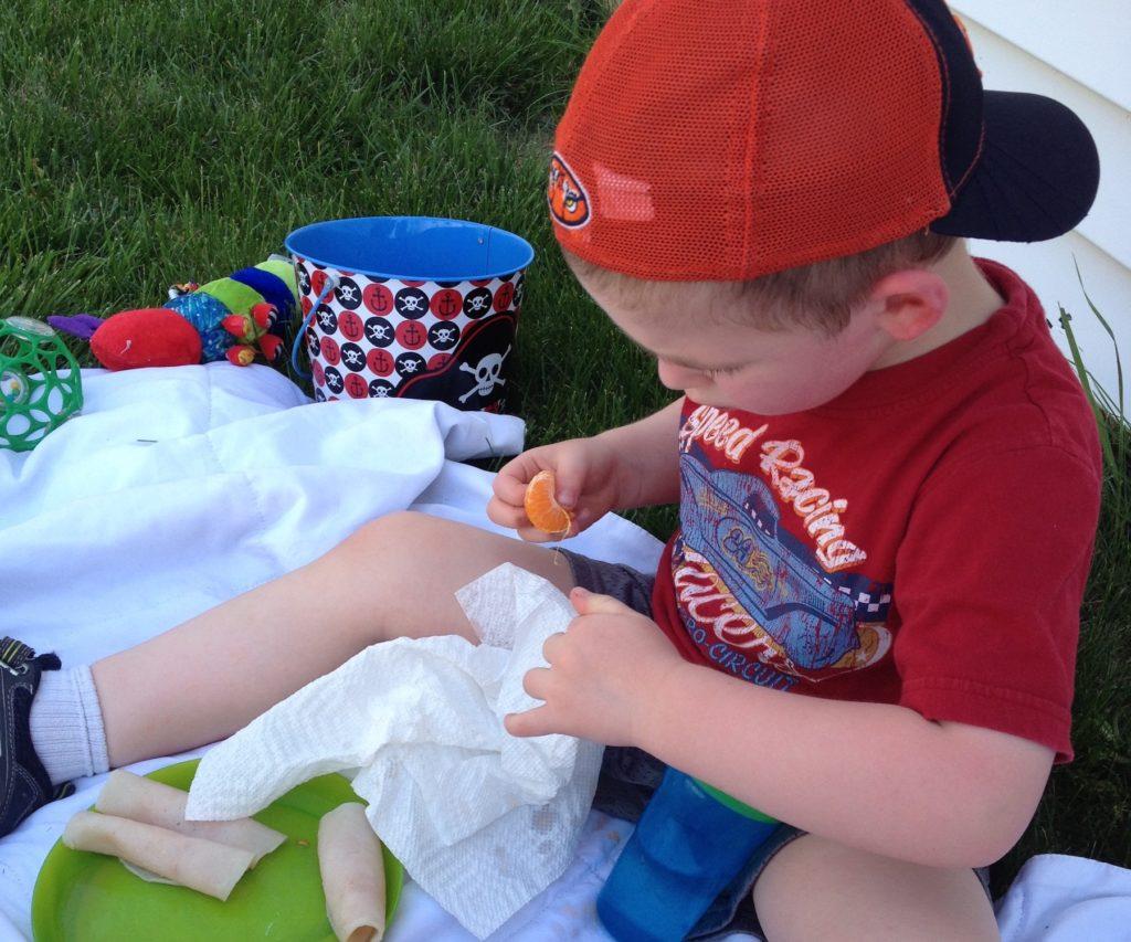 Toddler picnic