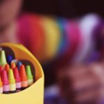 child crayons